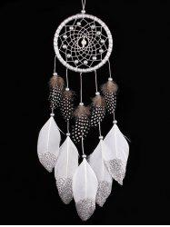 Wall Hanging Feathers Fringed Handmade Dream Catcher -