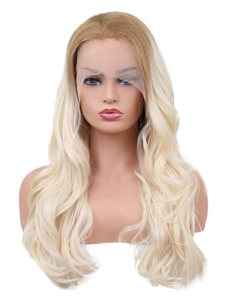 Store Long Colormix Wavy Synthetic Lace Front Wig