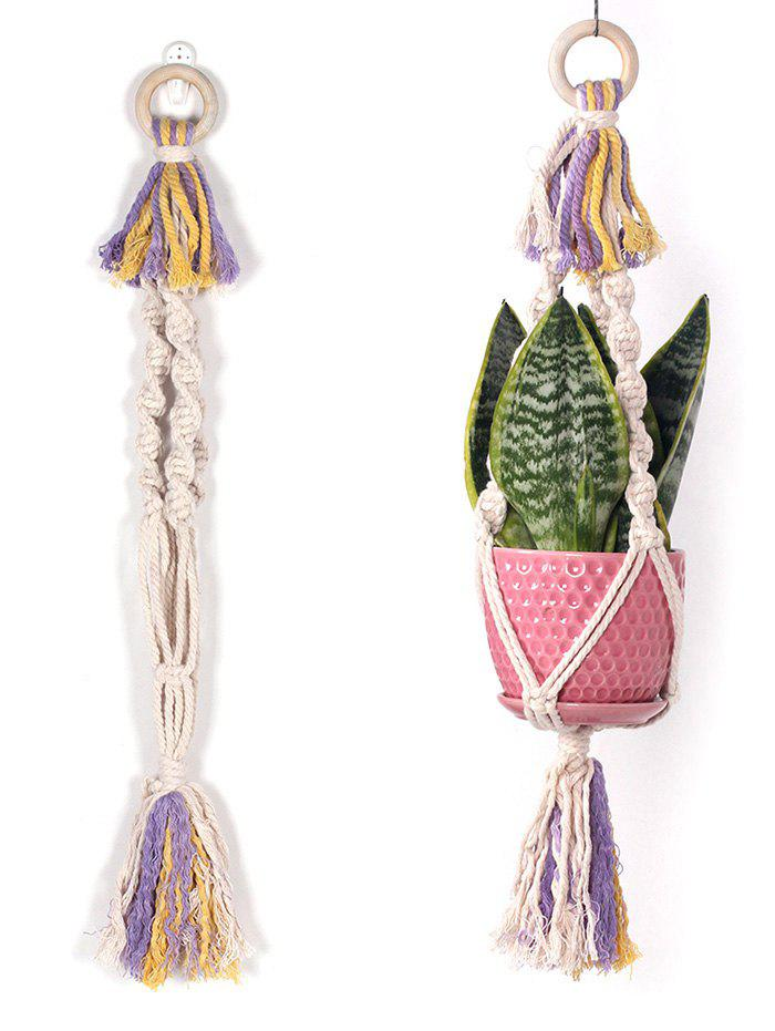 Fashion Pot Holder Macrame Plant Hanger Wall Hanging