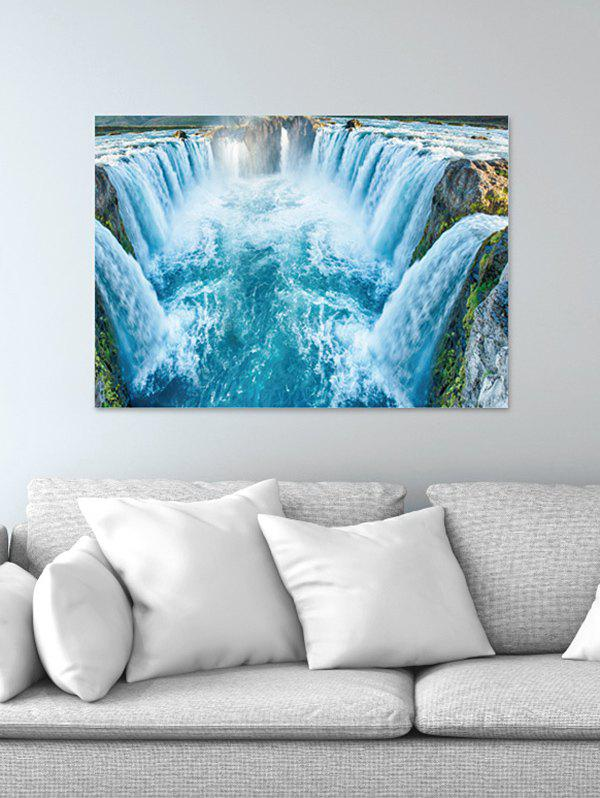 Store Waterfall River Print Wall Sticker for Bedroom