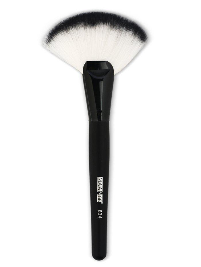 Best Professional Ultra Soft Fiber Hair Fan Shaped Cosmetic Blush Brush