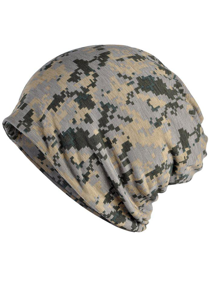 Hot Stylish Digital Camouflage Printed Open Top Beanie