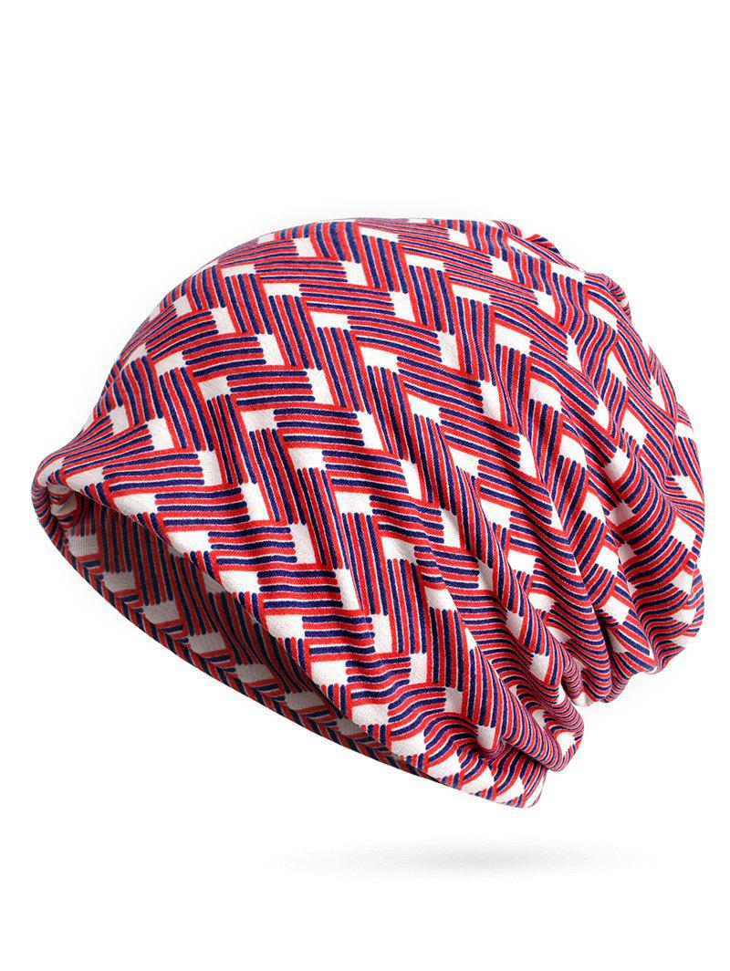 Buy Vintage Jacquard Pattern Slouch Beanie