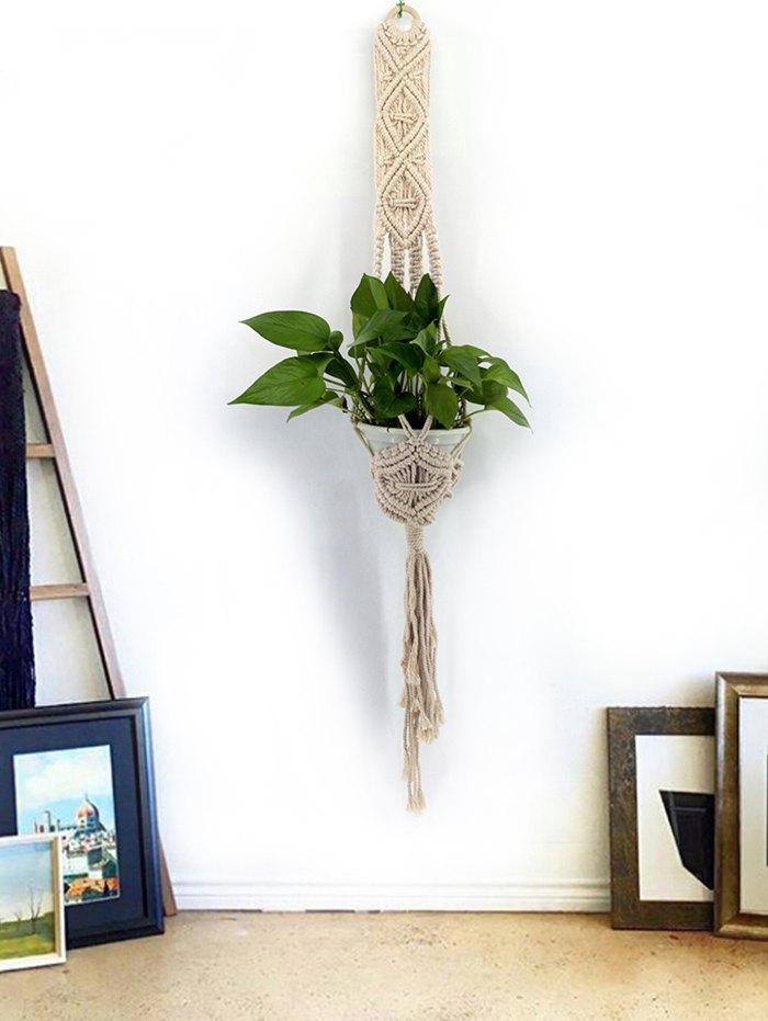 Hot Handmade Macrame Plant Hanger Basket for Plant Pots