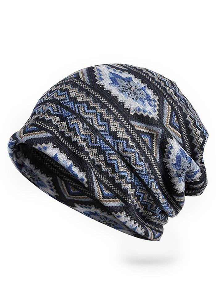 Online Vintage Wave Pattern Stretchy Slouchy Beanie