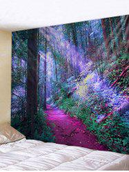 Unique Forest Print Tapestry Wall Art Decor -