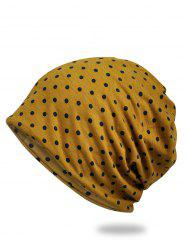 Vintage Polka Dots Pattern Slouchy Beanie -