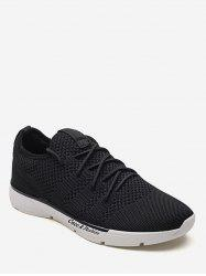 Anti Slip Lace Up Practical Sport Sneakers -