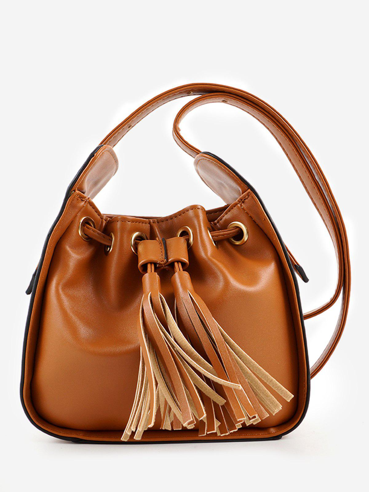 Hot PU Leather Tassels Minimalist Sling Bag