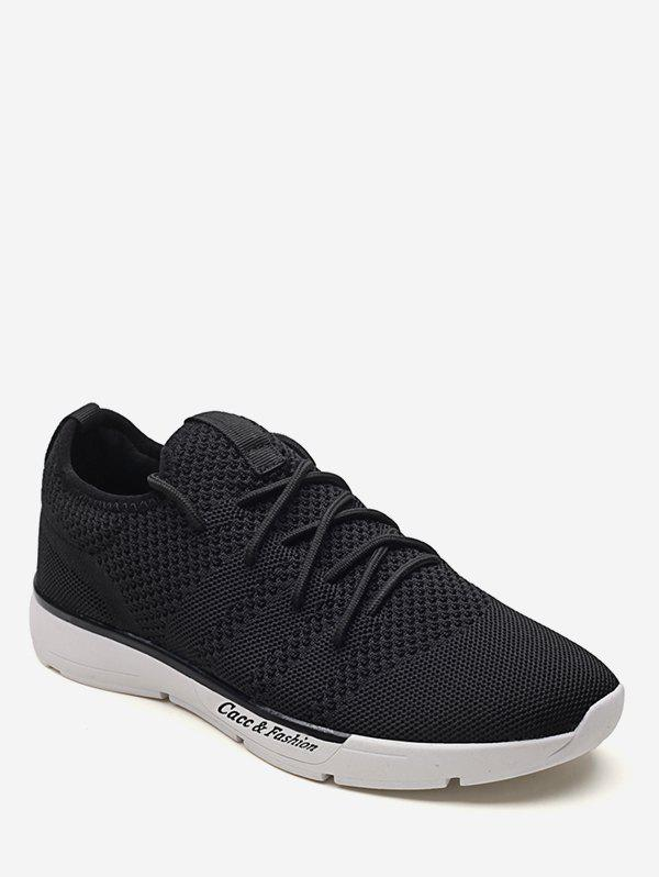 Chic Anti Slip Lace Up Practical Sport Sneakers