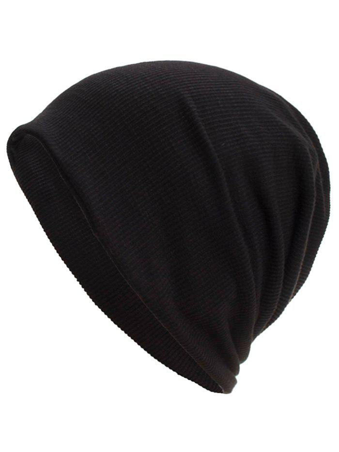Shop Soft Vertical Striped Pattern Slouch Beanie