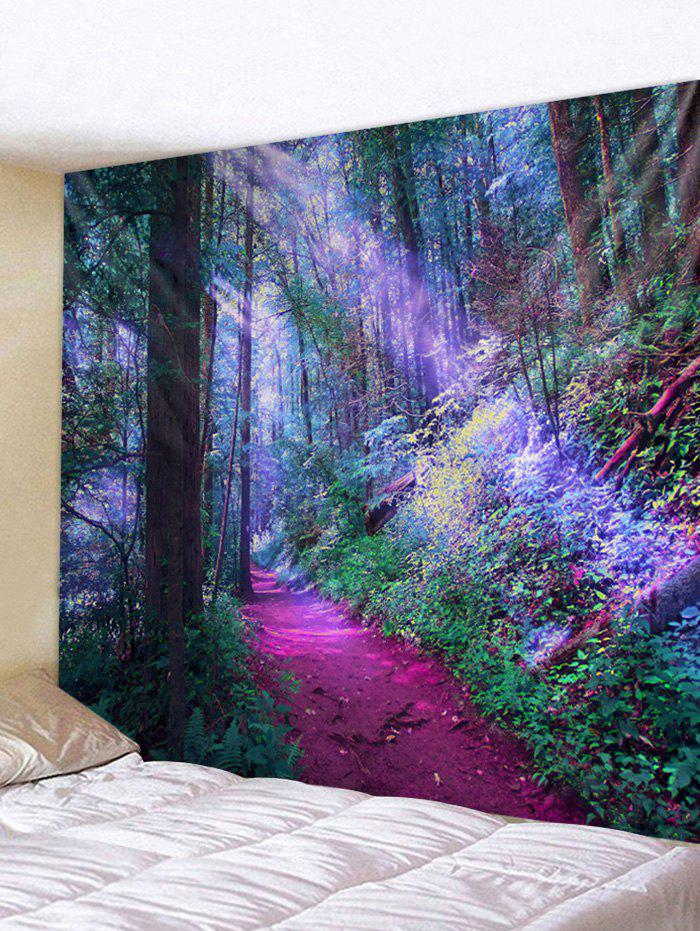 Discount Unique Forest Print Tapestry Wall Art Decor