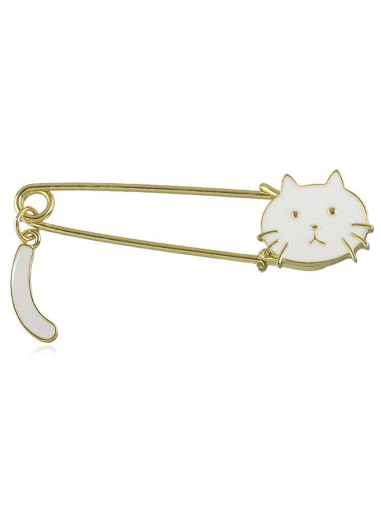 Broche Epingle Chat Mignon