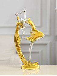 Dancing Girl Shape Home Decoration -