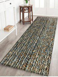 Stone Print Water Absorption Area Rug -
