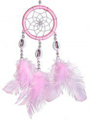 Wall Hanging Shells Feathers Handmade Dream Catcher -