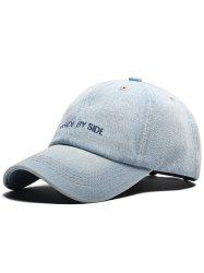 SIDE BY SIDE Embroidery Adjustable Graphic Hat -