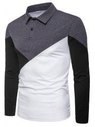 Patchwork Casual T-shirt -
