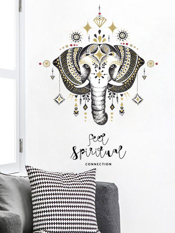 Discount Elephant Print Wall Stickers for Bedroom