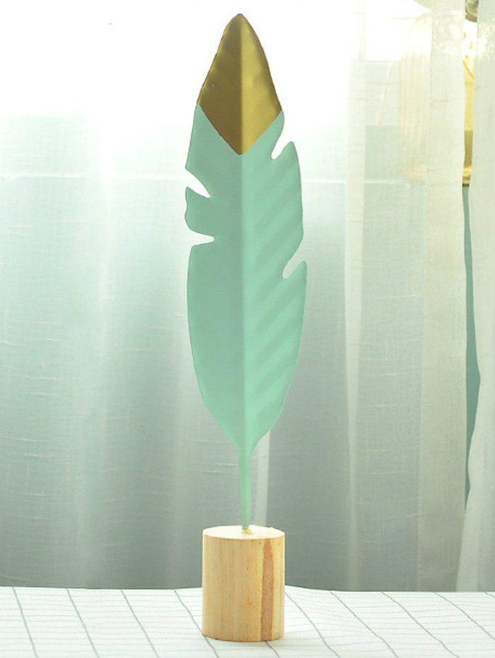Sale Metal Feather Home Figurine Decor