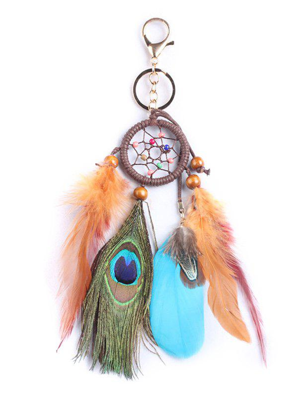 Latest Handmade Feathers Dream Catcher with Key Ring
