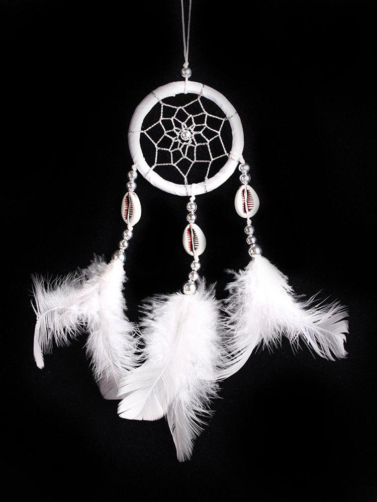 Chic Wall Hanging Shells Feathers Handmade Dream Catcher