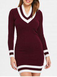 Long Sleeve Cricket Knit Dress -