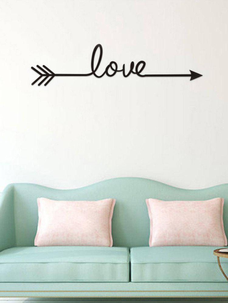 Outfit Love Arrow Print Wall Sticker for Bedroom