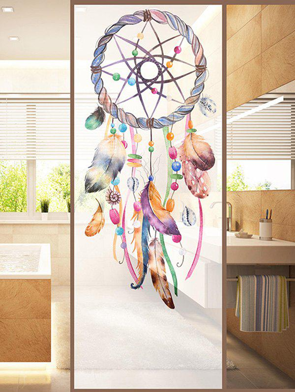 Sale Frosted Dream Catcher Sticker for Window Bathroom