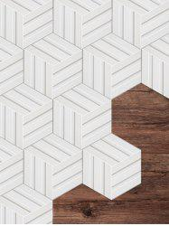 Repeating Geometric Pattern Kitchen Tile Stickers -
