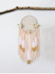 Feathers Ribbon Handmade Dream Catcher -