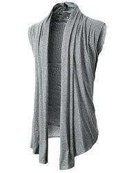 Solid Color Simple Casual Cardigan -