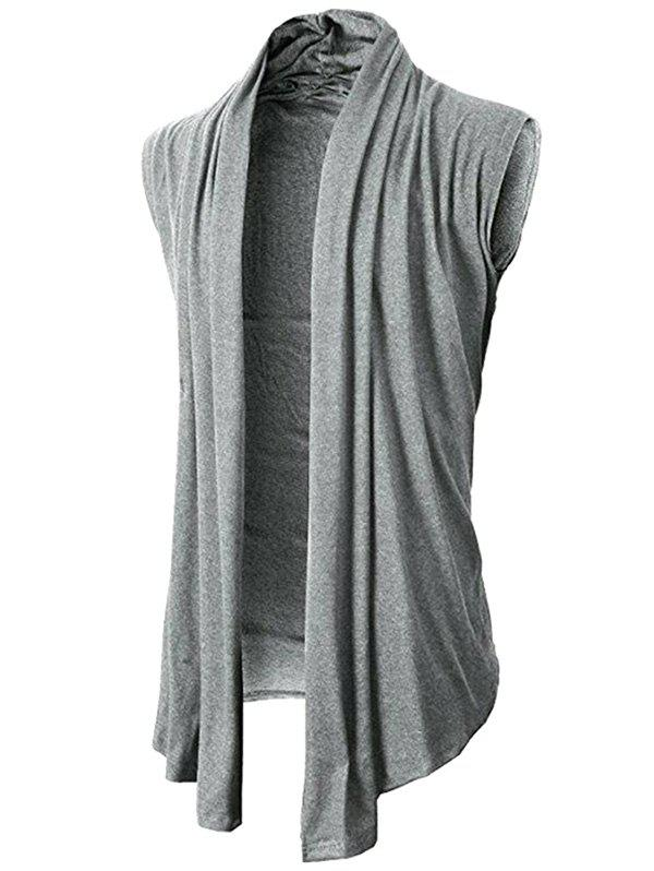 Affordable Solid Color Simple Casual Cardigan