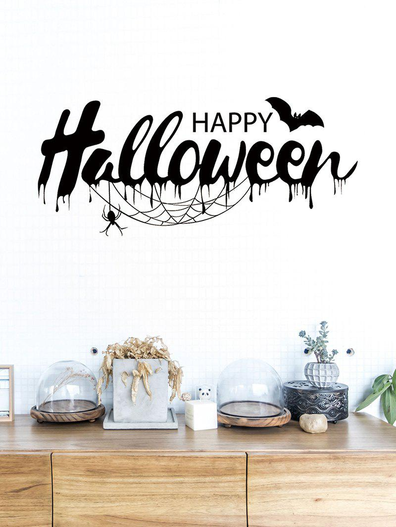 Online Halloween Bat Print Removable Wall Stickers