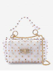 Rivet 2 Pieces Lucid Chain Crossbody Bag Set -
