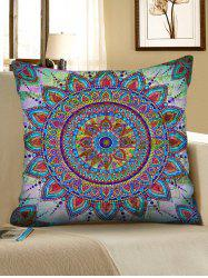 Mandala Print Decorative Sofa Pillowcase -