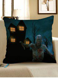 Halloween Zombie Print Decorative Sofa Pillowcase -