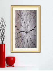 Broken Wood Printed Wall Art Stickers -