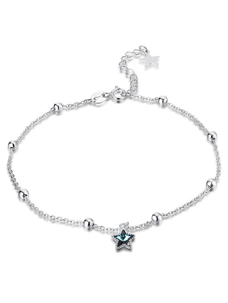 Outfit Sparkling Crystal Star Chain Anklet