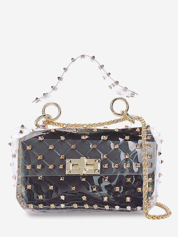 Affordable Rivet 2 Pieces Lucid Chain Crossbody Bag Set