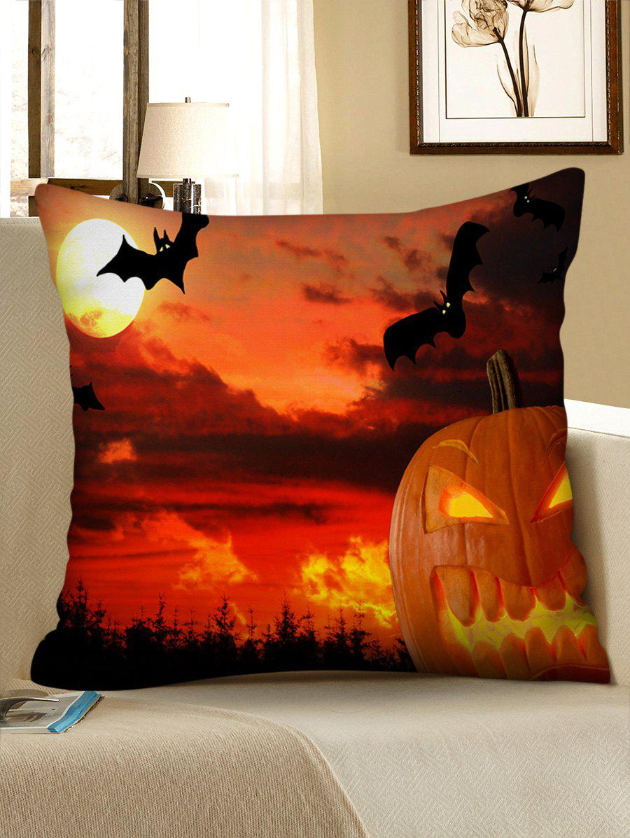 Trendy Halloween Sunset Print Decorative Sofa Pillowcase