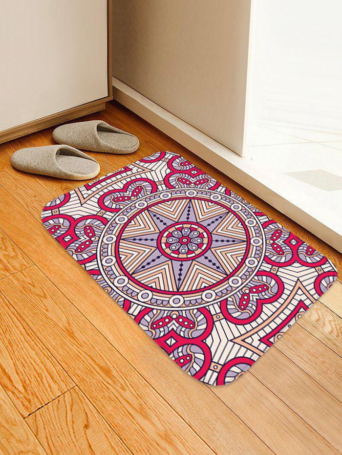 Hot Mandala Pattern Water Absorption Area Rug