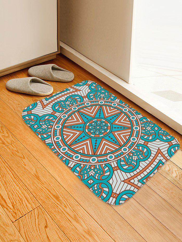 Outfit Mandala Pattern Water Absorption Area Rug