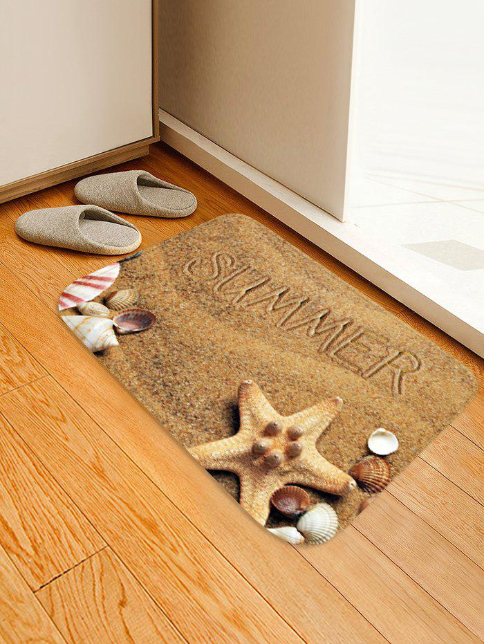 Latest Summer Beach Pattern Water Absorption Area Rug