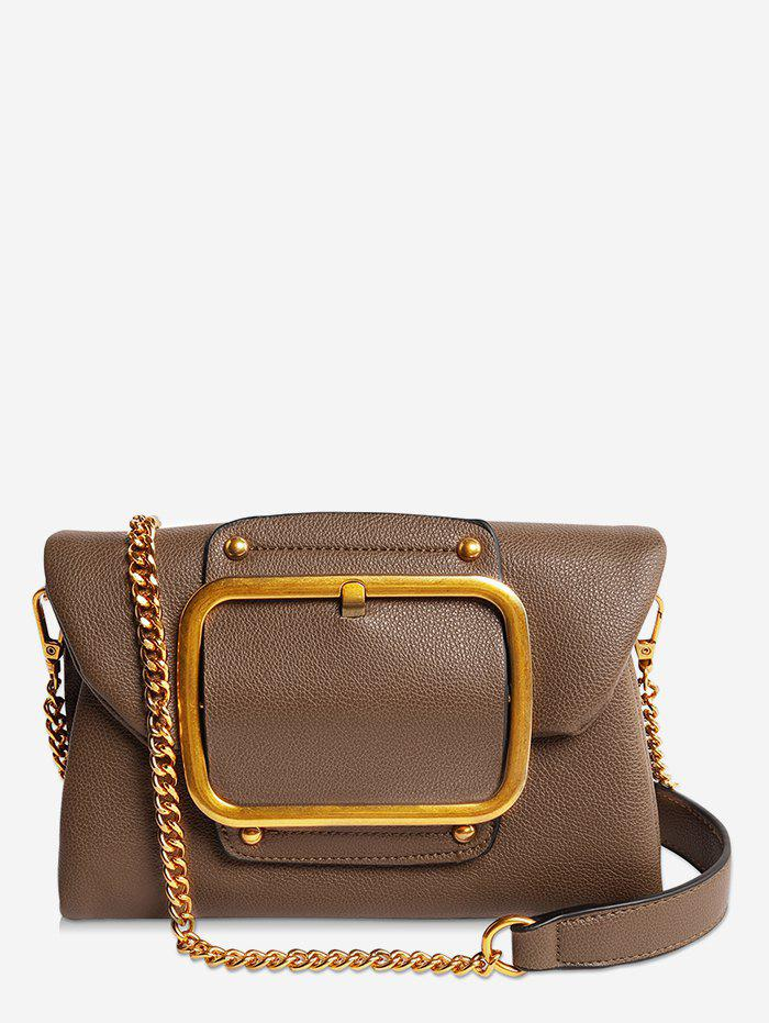 Hot PU Leather Buckle Flap Crossbody Bag