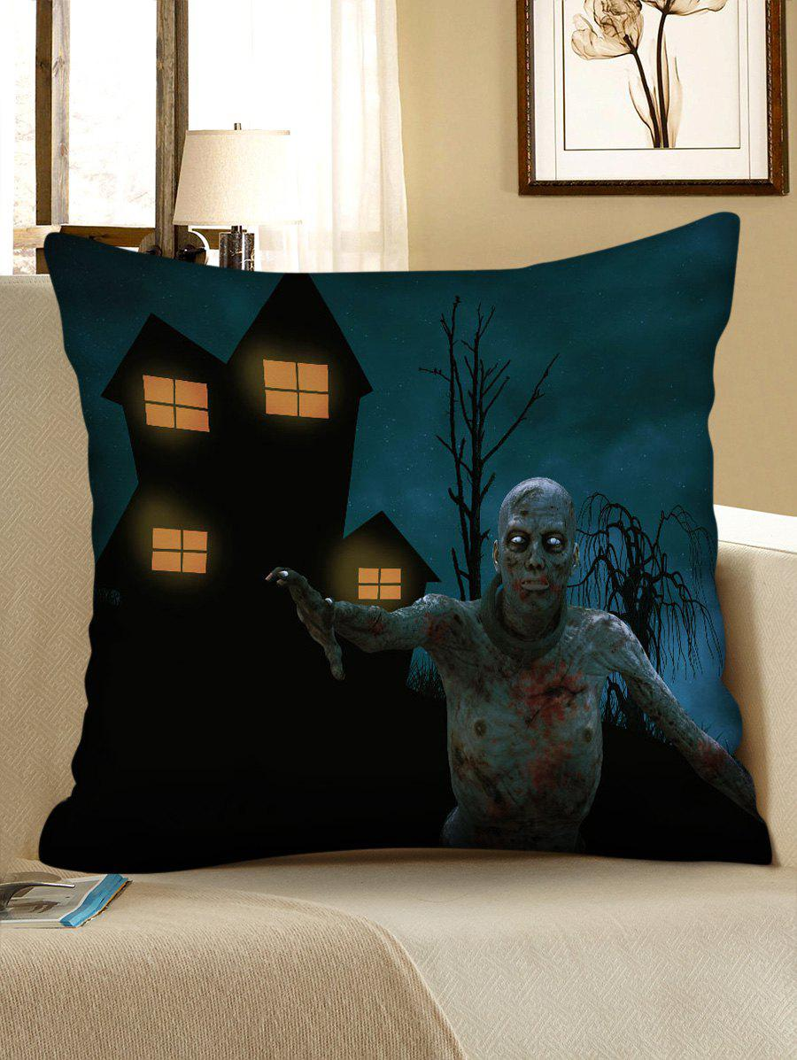 Affordable Halloween Zombie Print Decorative Sofa Pillowcase
