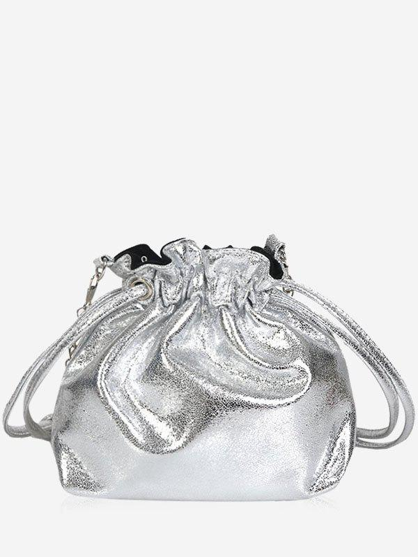 Outfit String Bucket Shaped All Purpose Chain Bag