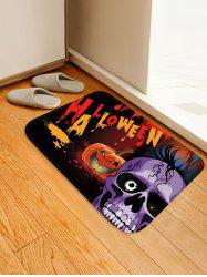 Halloween Pumpkin Print Anti-skid Area Rug -