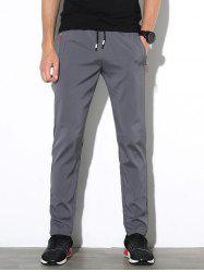 Casual Solid Color Straight Leg Pants -