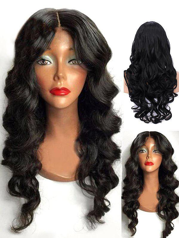 Buy Long Center Parting Wavy Synthetic Wig